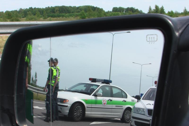 Šeštadienį Kaune įvyko dvi   avarijos