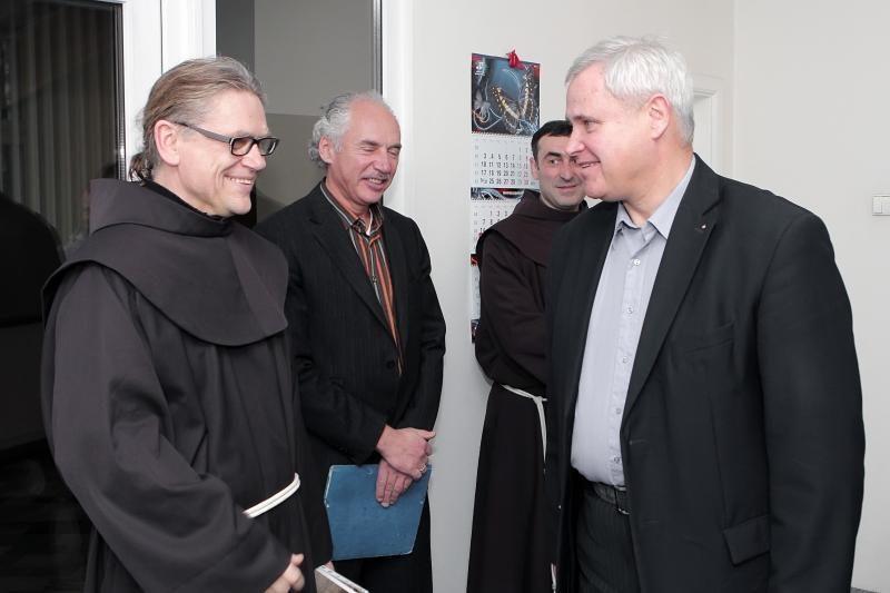 Pranciškonai sugrįžta į Klaipėdą - liepą atidaroma nauja jų koplyčia