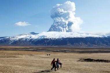 Islandijoje – ugnikalnio išsiveržimo grėsmė