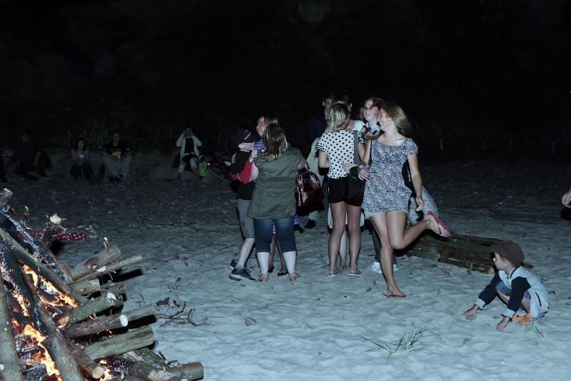 Klaipėdos paplūdimiuose liepsnojo simboliniai laužai
