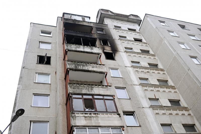 Įtariamas Šilainių buto padegėjas pats pasidavė policijai