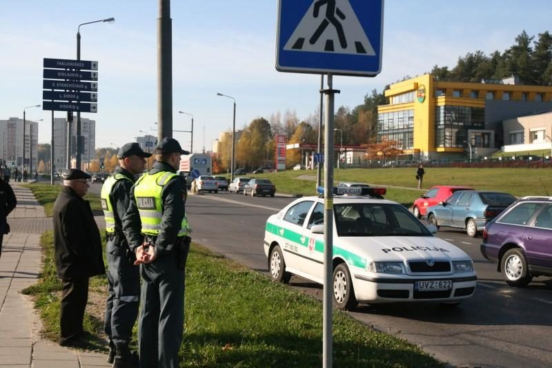 Vilniuje pėsčiųjų perėjoje partrenkta moteris ir mergaitė