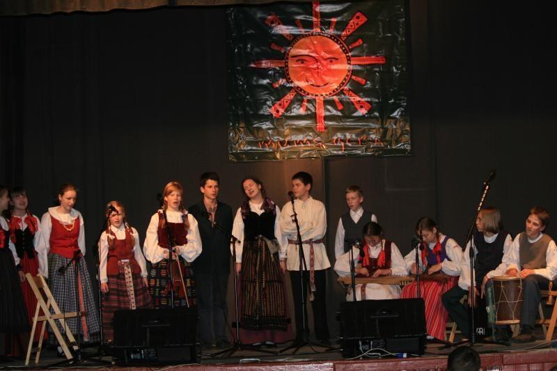 Uostamiesčio etnokultūros centre - jaunimo sueiga