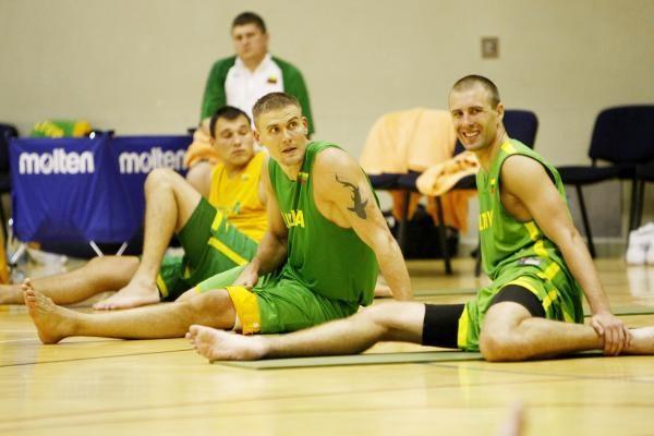 Krepšinio rinktinės pergalių pamatai dedami pajūryje