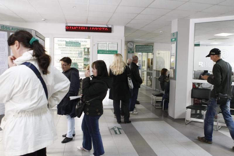 Klaipėdos regione padaugėjo darbo ieškančių žmonių