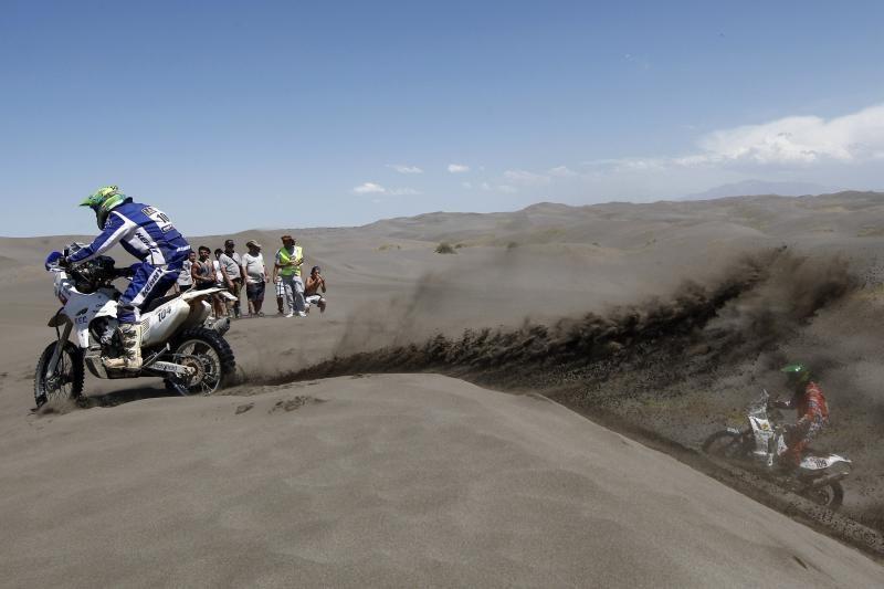 Lietuvis gerina savo pozicijas Dakaro ralyje