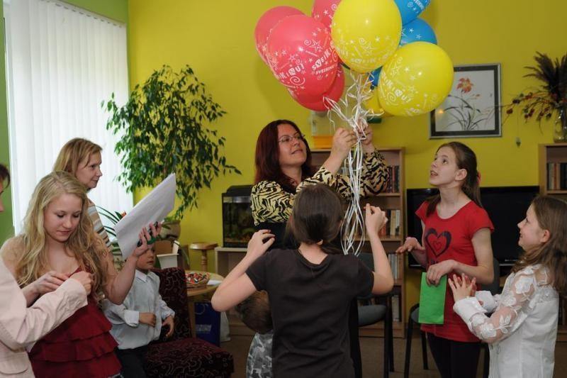 Motinos dienos šventė Vilniaus Motinos ir vaiko pensiono gyventojams