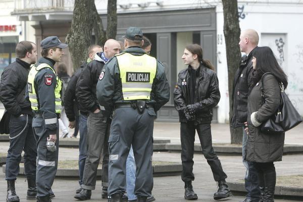 Protestas prieš gėjų eitynes Kaune vyko tyliai