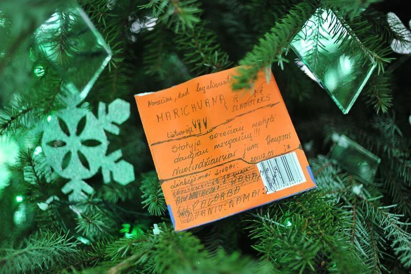 Kalėdų eglei kauniečiai patiki slapčiausias svajones