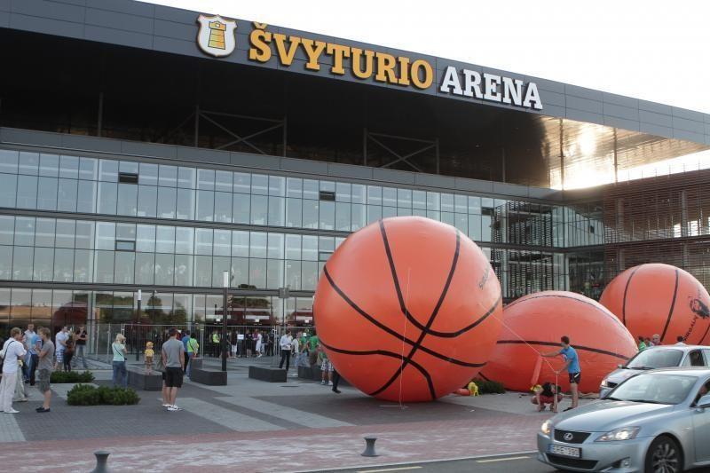 Klaipėdos arenoje teks šalinti trūkumus