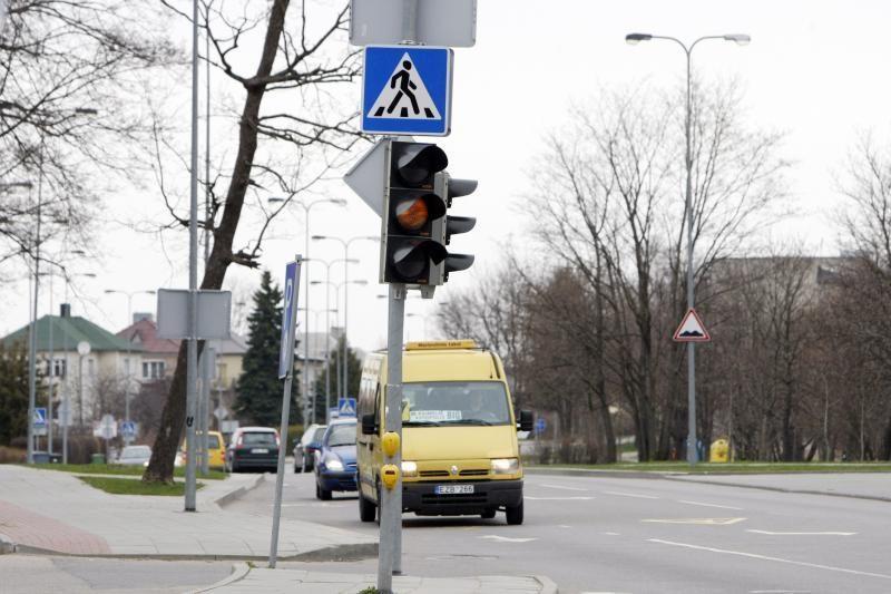 Judrioje Klaipėdos sankryžoje neveikė šviesoforas