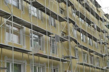 Daugiabučių renovacija: trūksta kvalifikuotų statybininkų