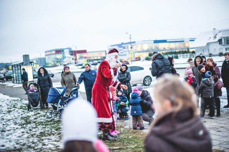 Kalėdų dvasia apsigyveno ir Šilainiuose