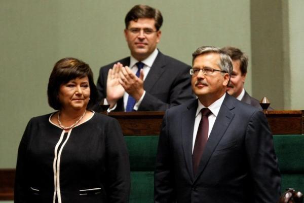 Lenkijoje prisaikdintas naujasis prezidentas B.Komorowskis