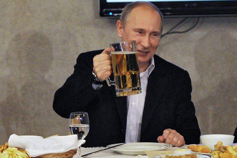 Daugiau nei 50 proc. Rusijos gyventojų pasiryžę balsuoti už V.Putiną