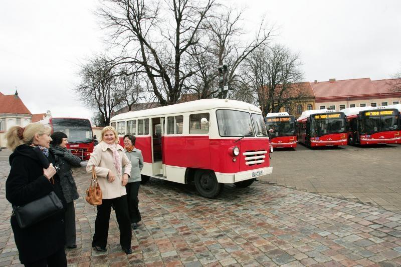 Nauji Kauno autobusai – už daugiau nei 21 mln. litų