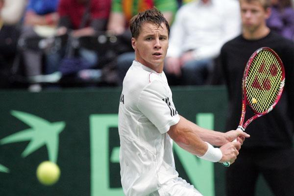 R.Berankio nesėkmė tarptautiniame teniso turnyre Vokietijoje