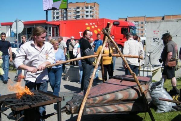 Mažeikiuose įvyko trečioji Tarptautinė kalvystės meno šventė
