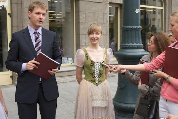 Vilniaus gatvėse – puantai ir balerinų šypsenos