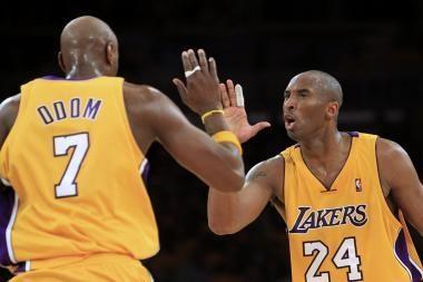 """""""Lakers"""" įtikinama pergale pradėjo NBA Vakarų konferencijos finalą"""