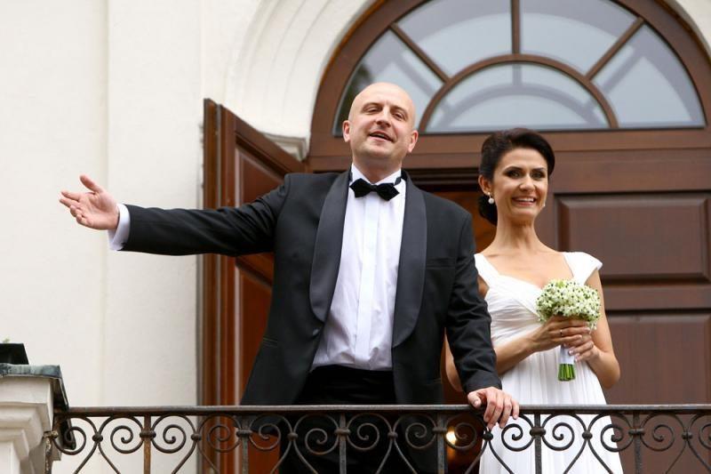 Vestuvių proga R.Šimukauską  sveikino ir buvusi sužadėtinė