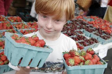 Lenkijos ūkininkė užaugino rekordiškai didelę braškę