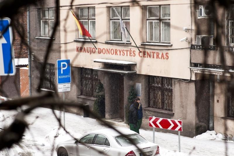 """""""Kraujo donorystės centro"""" vadovui – STT įtarimai"""