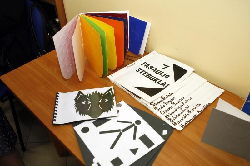 Silpnaregiams vaikams sukurtos unikalios knygos