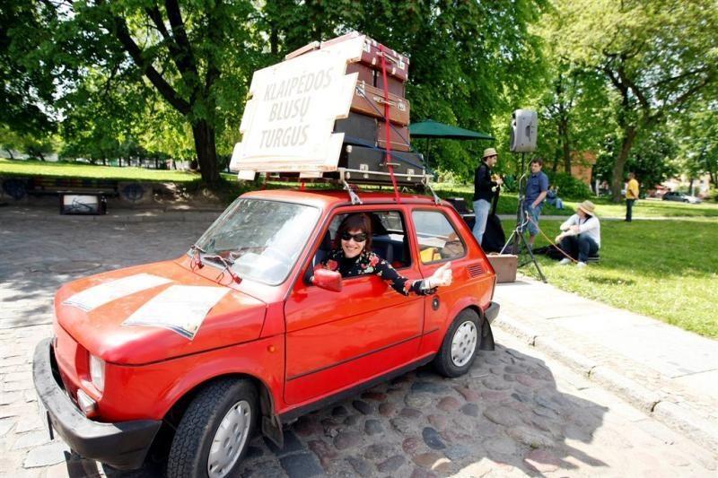 Į Klaipėdos senamiestį sugrįžta Blusų turgus