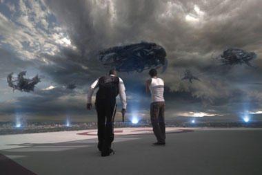 Netrukus kino teatruose – žmonijai pražūtinga ateivių invazija