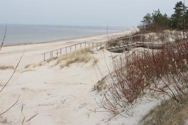 Pasieniečiai Baltijos jūroje pastebėjo skenduolį