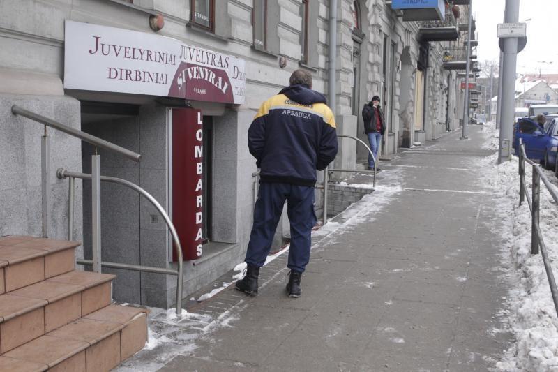 Vilniuje žaibiškai apvogta juvelyrikos parduotuvė (atnaujinta)