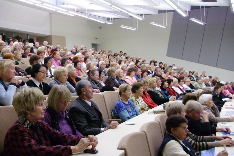 Palangoje - didžiulis susidomėjimas Trečiojo amžiaus universitetu