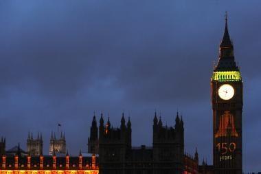 Londono Big Benui sukako 150 metų