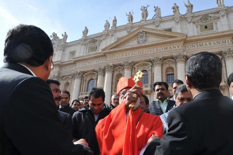 Popiežius paskyrė 22 naujus Kardinolų kolegijos narius