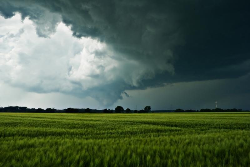 Biržų rajone kaimą nusiaubė viesulas: nukentėjo 30 sodybų