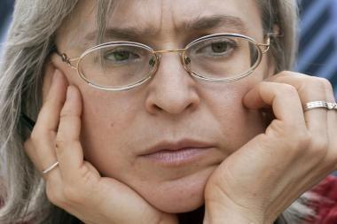 Maskvoje vyksta atminimo akcija nužudytai žurnalistei Anai Politkovskajai paminėti