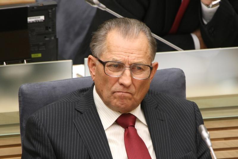 Atsistatydino Seimo Etikos komisijos narys K.Ramelis