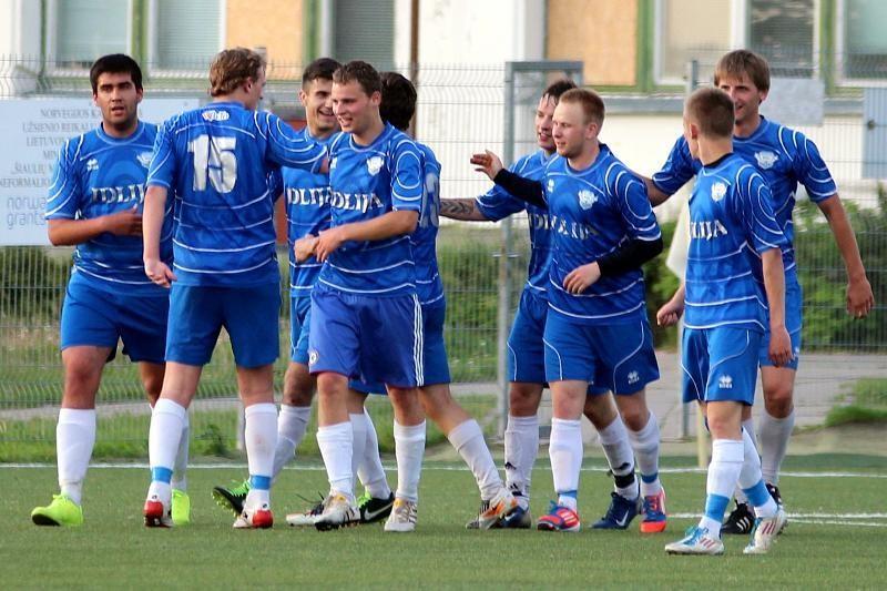 Lietuvos futbolo taurės pirmame etape sekėsi Šiaulių komandoms