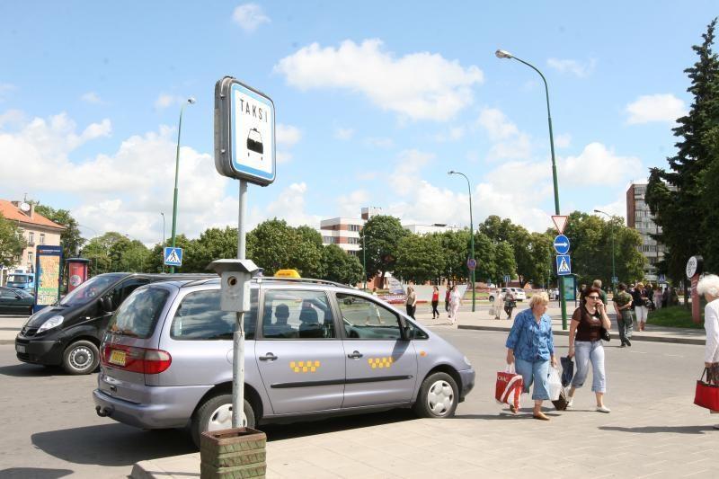 Klaipėdoje – paini taksi automobilio vagystės istorija