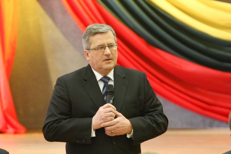 Lietuvos ir Lenkijos vadovai rūpinsis energetiniais projektais