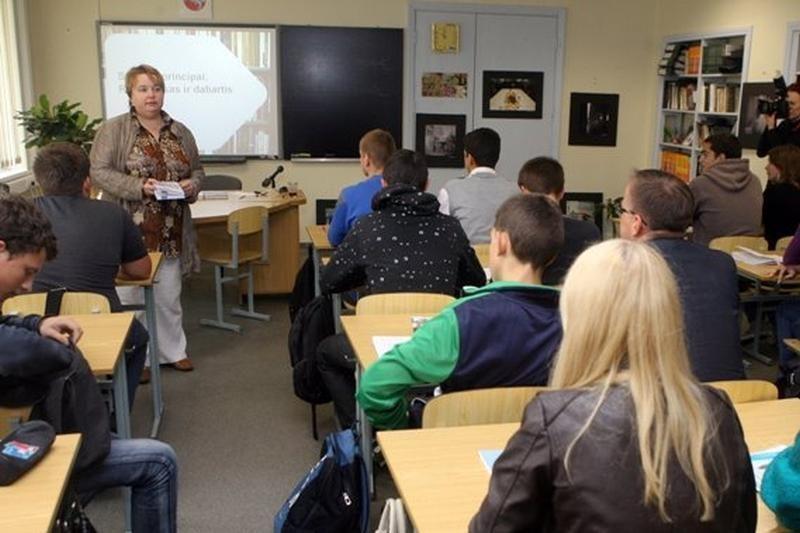 Klaipėdos mokykloms trūksta verslo įsitraukimo