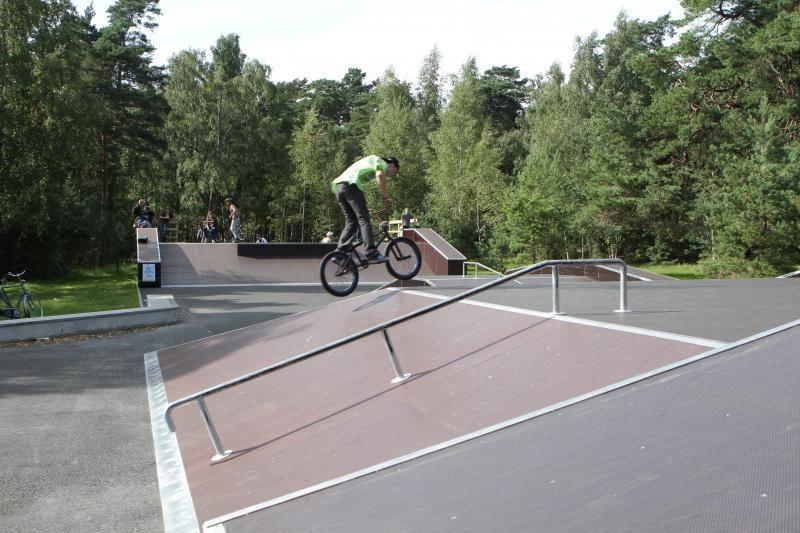 Klaipėdoje atidaromas ekstremalaus sporto parkas