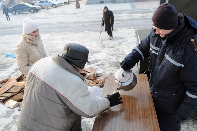 Ukrainoje šalčiai jau pareikalavo 30 aukų