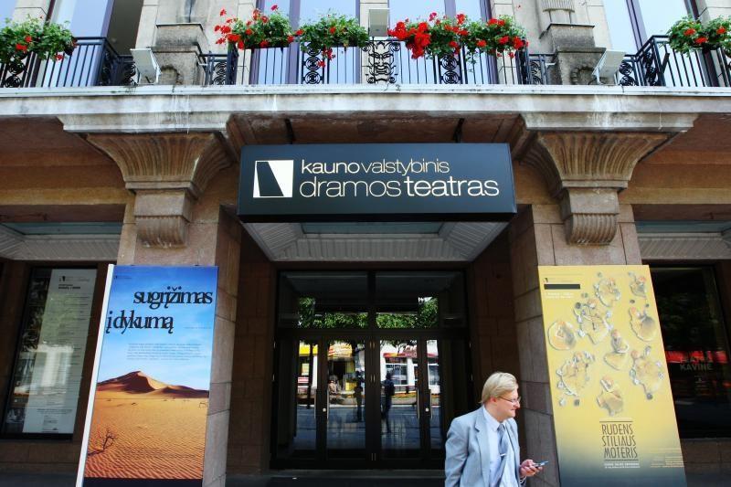 Vyriausybė pritaria, kad Kauno dramos teatras taptų nacionaliniu