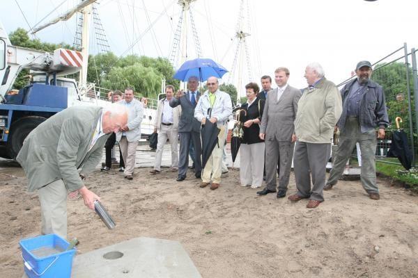 Klaipėdoje pradėtas statyti paminklas Lietuvos tūkstantmečiui
