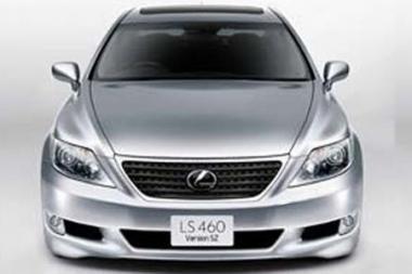"""""""Lexus"""" šiemet pristatys sedano """"LS 460"""" sportinę versiją"""
