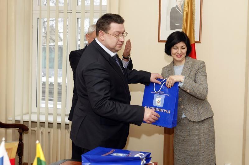 Kaliningrado ir Klaipėdos miestų vadovai sutarė dėl bendrų darbų