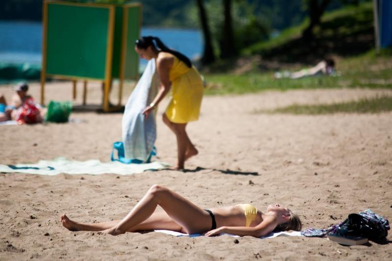 Ar miesto paplūdimiai gali atstoti kurortus?