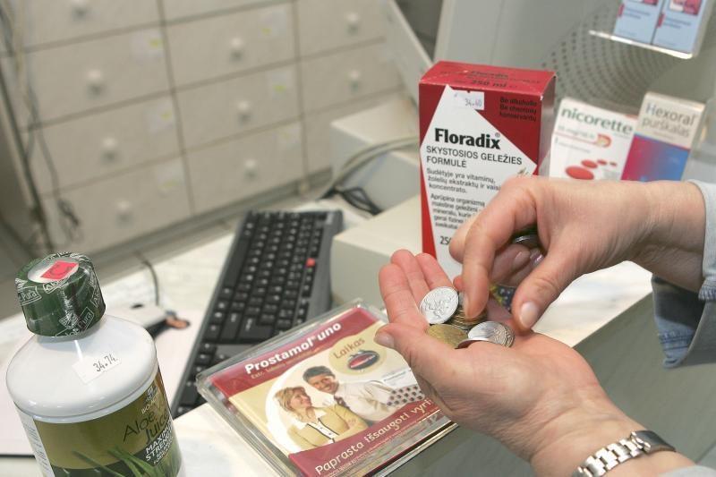 Apie kompensuojamuosius vaistus: skaičiai ir faktai
